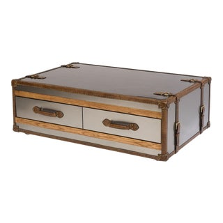 Sarreid LTD Jet Setter Trunk