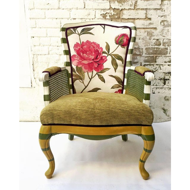 Floral Peony Chair - Image 2 of 5