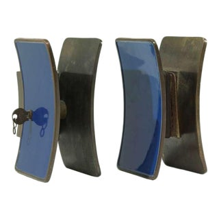 Several 1950s Italian Brass Door Knobs