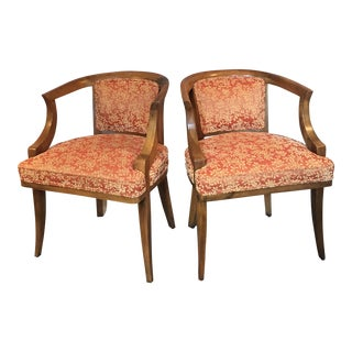 Early 20th Century Maple Dining Room Chairs - Set of 4