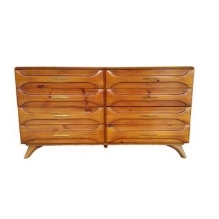 Vintage Mid-Century Modern Pine Dresser