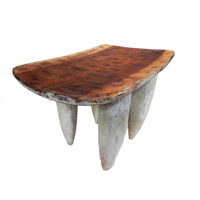Senufo Stool or Table I coast - Image 4 of 9