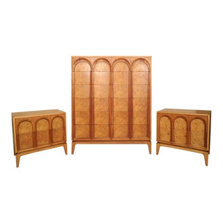Thomasville Mid-Century Bedroom Set - Set of 3