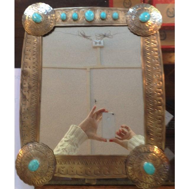 Stamped Vanity Mirror - Image 2 of 7