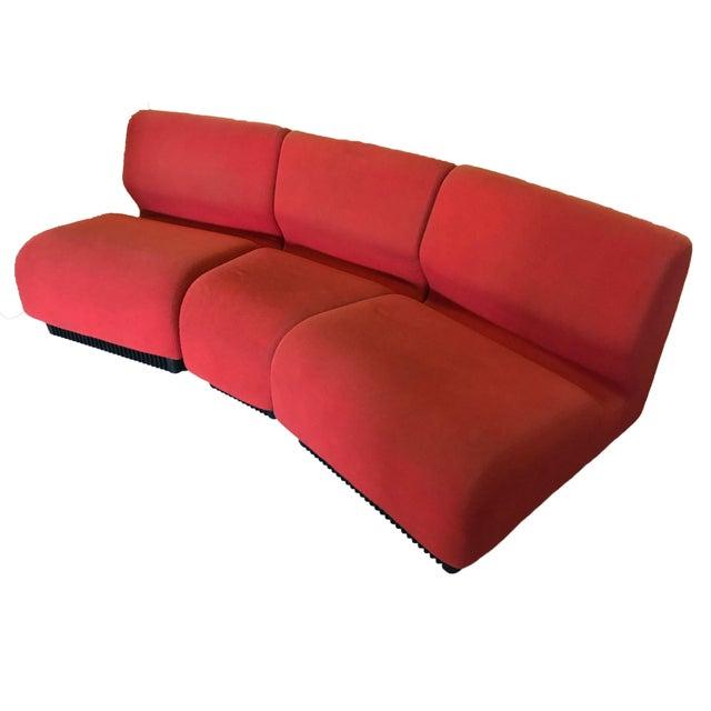 Orange Herman Miller Chadwick Modular Seating - Image 11 of 11