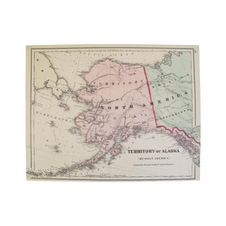 Map of the Territory of Alaska or Russian America
