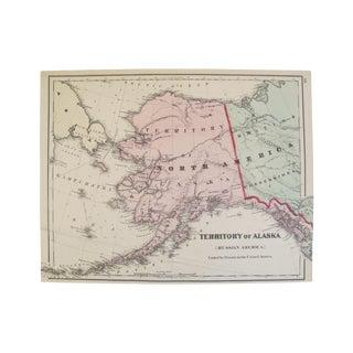 Map of the Territory of Alaska or Russian America