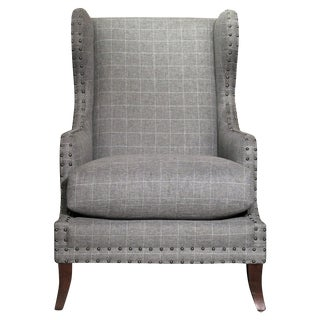 Brady Wing Chair by Candice Olson