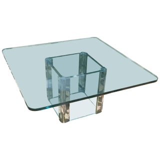 Pace Mid-Century Square Coffee Table