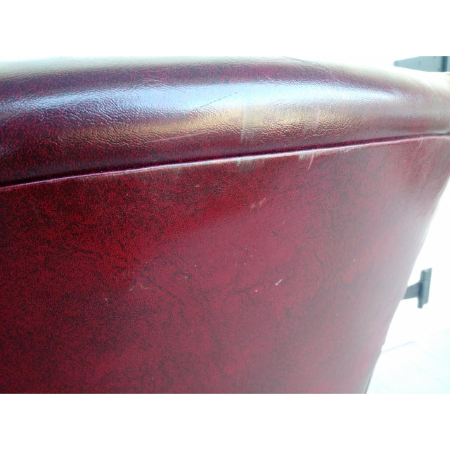 Oxblood Executive Guest Chair - Image 4 of 5