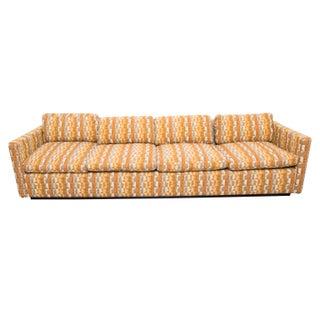 Vintage Four Seat Sofa