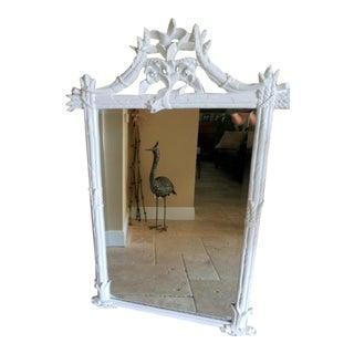 Vintage White Asparagus Mirror