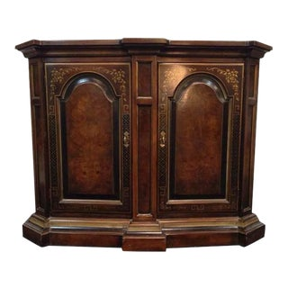 Drexel Heritage Carved Mahogany Two-Door Buffet