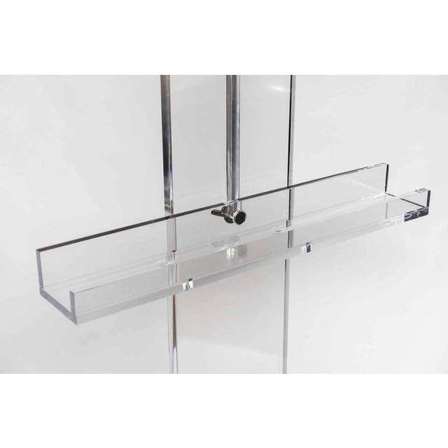 Thick Lucite Art or Display Easel - Image 3 of 4