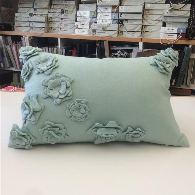 Tourmaline Linen Pillow Cover - Image 2 of 5