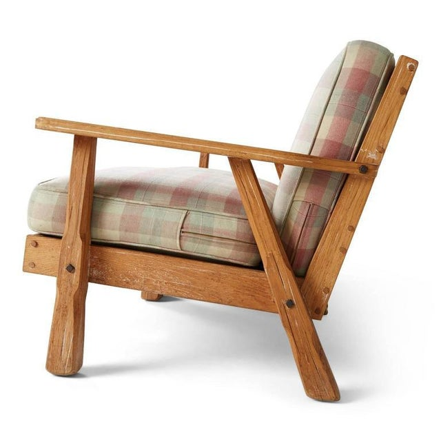 A. Brandt Ranch Textured Oak Seating Set - Image 7 of 9