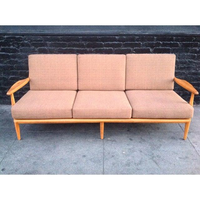 Conant Ball Mid-Century Pink Sofa - Image 3 of 8