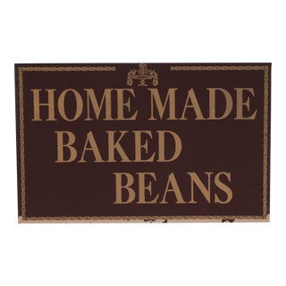 Homemade Baked Beans Sign