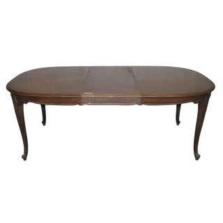 Vintage French Country Dining Table With LeafVintage   Used French Country Dining Tables   Chairish. French Country Dining Tables. Home Design Ideas