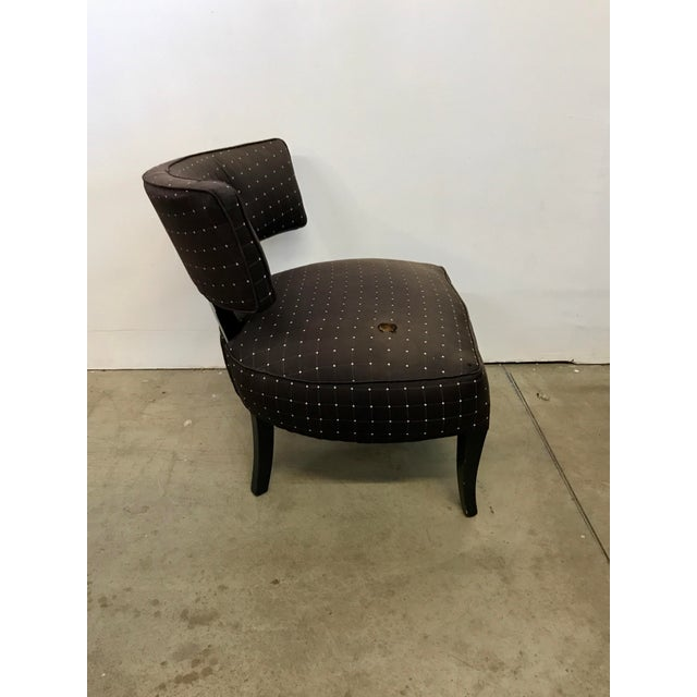 Billy Haines Style Slipper Chair - Image 10 of 10