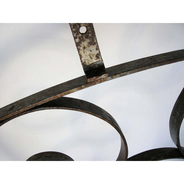 Large Scale Decorative Iron Architectural Arch - Image 6 of 10