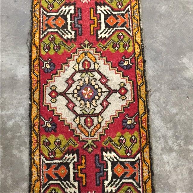 "Antique Anatolian Persian Rug - 1'7"" x 3'4"" - Image 3 of 8"