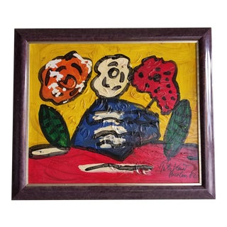1982 Peter Keil Oil Painting