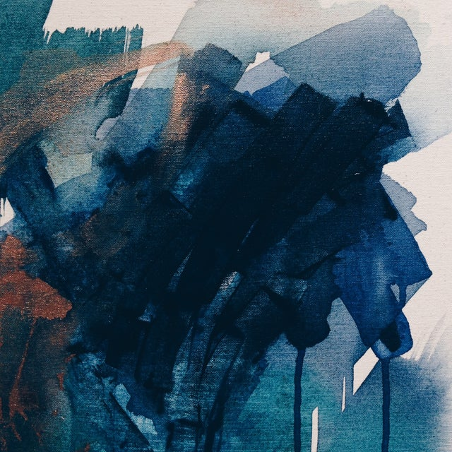 Dani Schafer Then We Woke Up Abstract Painting - Image 5 of 6