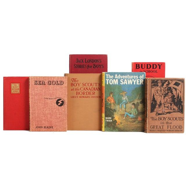 Image of Boy's Vintage Books - Set of 22