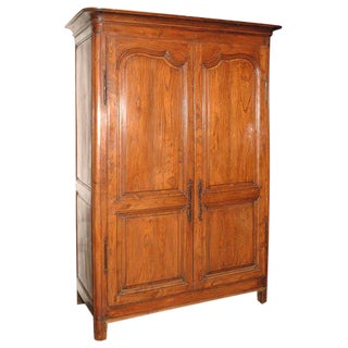 Antique Fruitwood Armoire