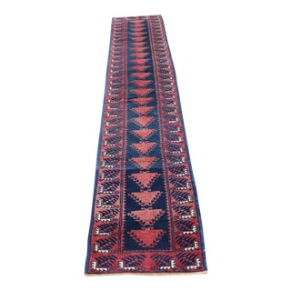 Turkish Hand Made Runner - 1′9″ × 9′5″
