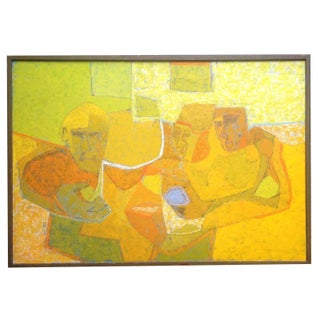 Cubist Painting by Robert Inlow