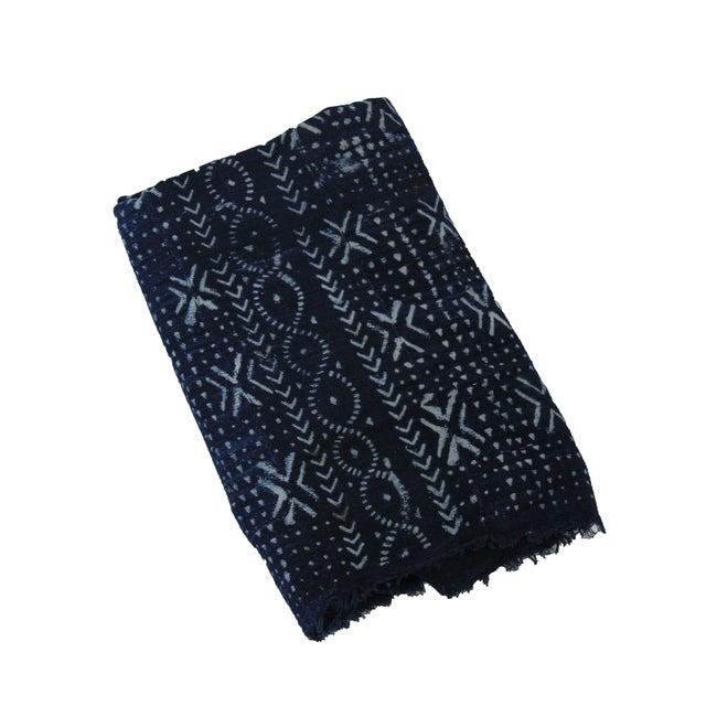 Vintage Neema Indigo African Mud Cloth Chairish