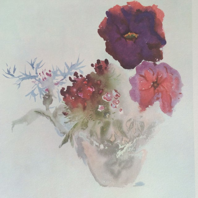 Art Print by Ian Woodner Anemones, Laurel & Fern - Image 3 of 8