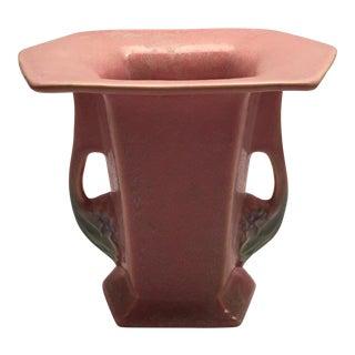 PinkRoseville Vase