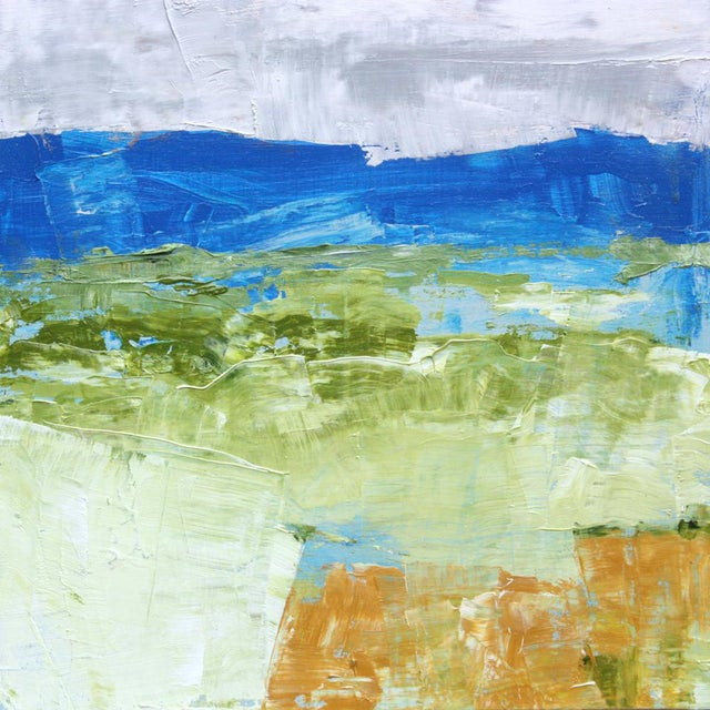 Paul Ashby Original Abstract Landscape Oil Painting - Image 1 of 2