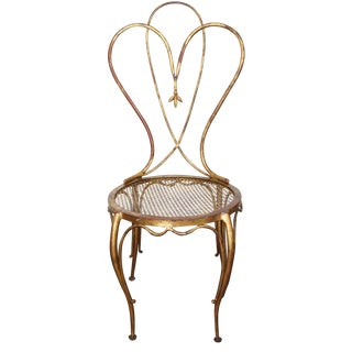 Gold Antique Chair
