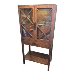 Ethan Allen Fulton Bar Cabinet