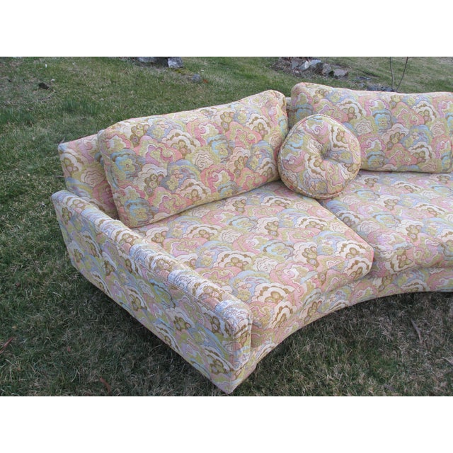 Vintage Sectional Sofa Attr. To Milo Baughman - Image 4 of 8