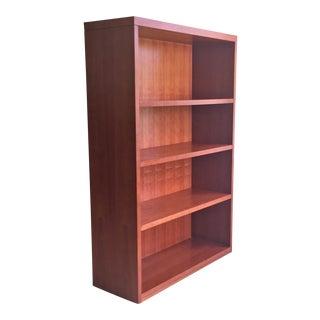 3-Shelf Modern Cherry Bookcase