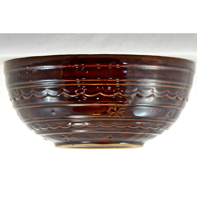 Brown Rustic Stoneware Bowl - Image 3 of 5