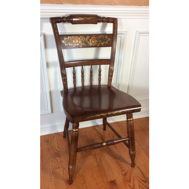 Vintage Hitchcock Inn Chair - Image 4 of 8