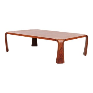 Saburo Inui Coffee Table for Tendo, Japan, circa 1960