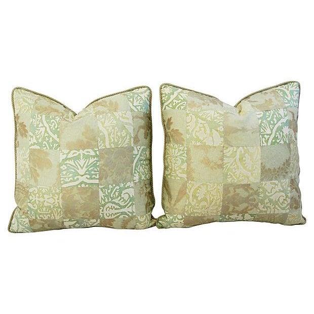 Fortuny Piazetta & Boucher Pillows - A Pair - Image 6 of 6