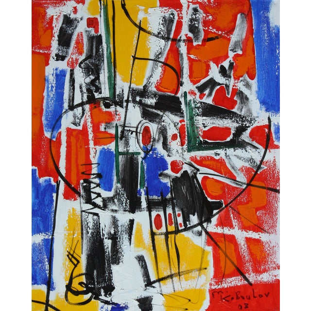 Image of Abstract Expressionist Painting by Murat Kaboulov