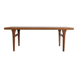 Johannes Andersen Style Teak Coffee Table