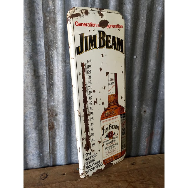 Vintage Original Jim Beam Advertising Thermometer - Image 5 of 9
