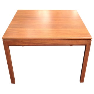 Jens Risom Walnut Side Table