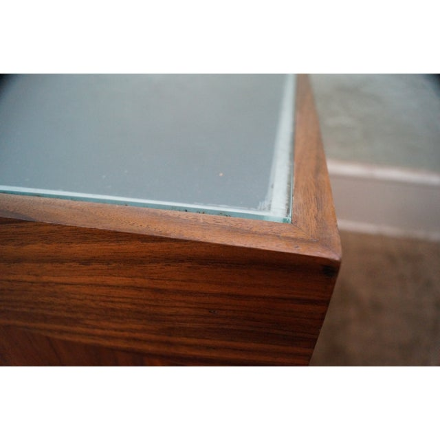 Solid Walnut Cube End Tables - A Pair - Image 5 of 10