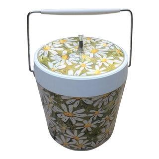 Mid-Century Modern Daisy Ice Bucket